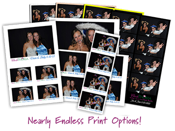 MN Photo Booth Print Options