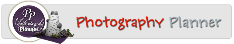 Photography Planner Banner