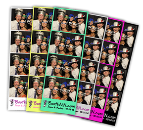 Ham Lake Minnesota Photo Booth Strips