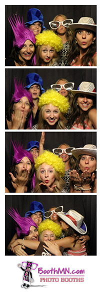 Silver Photo Booth in MN