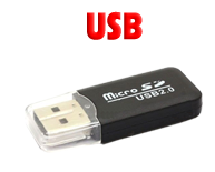 Storage Devices USB SD and DVD
